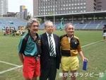 90周年記念試合OB戦 記念撮影2