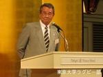 創部90周年の集い 日本ラグビーフットボール協会 理事 早稲田 矢部達三氏.JPG