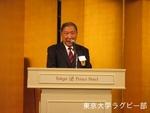 創部90周年の集い 成蹊 立花馨三氏.JPG