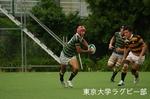 定期戦 vs慶應大-3 安井(SO)