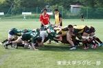 夏合宿 vs関西学院大学-1 スクラム
