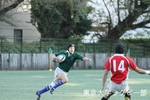 練習試合Bvs防衛大-1 1年南里(FB)