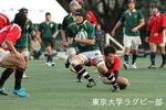 練習試合Bvs防衛大-3 1年勝田(FL)