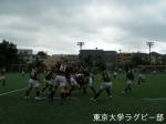 vs慶応 密集の攻防